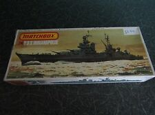 VINTAGE MATCHBOX - USS INDIANAPOLIS, SCALE 1:700.