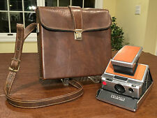 Vintage 1970s POLAROID SX-70 Alpha-1 Instant SLR Land Camera & Case