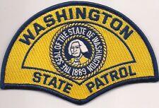 STATE POLICE PATROL * WASHINGTON **  Staats-Polizei Abzeichen Patch Aufnäher WA
