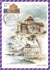 Carte postale - Charente maritime - aquarelle originale de robert lepine