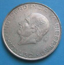5 Pesos in Argento- Messico 1956 HIDALGO - BB - nr. 678