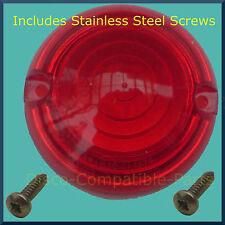 Land Rover Defender Brake/  Stop / Tail Light Lens + Stainless Steel Screws