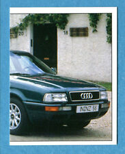 AUTO 100-400 Km - Panini -Figurina-Sticker n. 83 - AUDI 80 2.0 90cv 2/2 -New