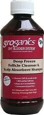 Groganics DHT Deep Freeze Follicle Cleanser & Scalp Absorbent Shampoo 8oz NEW