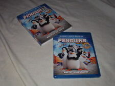Penguins of Madagascar: The Movie  (BLU-RAY+DVD, 2015) Dreamworks Animation Kids