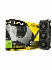 ZOTAC Nvidia GeForce GTX 1070 8GB AMP Extreme Edition Gaming Graphics Card