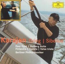 Karajan Conducts Grieg & Sibelius (CD, Apr-2003, 2 Discs, DG Deutsche...
