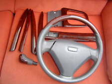 Volvo S40/V40 wood/leather Steering Wheel + trims, 2001-2004 PHASE 2 MODELS