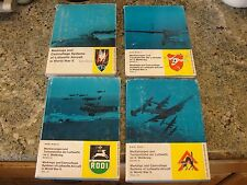 karl Ries BOOKS set  4 Markings camouflage luftwaffe aircraft WWII world war 2