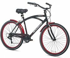 26 Men's Kent Bayside Cruiser Bike Bicycles Shimano 7-speed