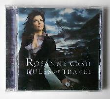ROSANNE CASH CD RULES OF TRAVEL 2003 Capitol +STEVE EARL,SHERYL CROW,JOHNNY CASH