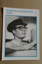 (S33) STARFILMKARTE - Marcello Mastroianni - Achteinhalb