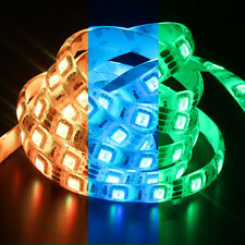 Flexible 5M SMD RGB 5050 300LEDs Waterproof LED Strip Light Wedding Xmas Decor