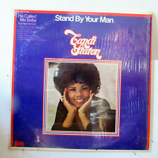 CANDI STATON-STAND BY YOUR MAN ON FAME SOUL FUNK LP-VG++, IN SHRINK!