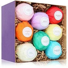 8 Ultra Lush Bath Bomb Gift Set - Bath Bombs Kit - USA Made - Spa Fizzies - B...