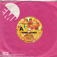 THE VAPORS Turning Japanese / Here Comes The Jungle (Live) 45