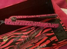 ISO BEAUTY SPECTRUM PRO HAIR STRAIGHTENER FLAT IRON PINK ZEBRA