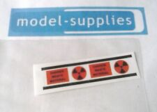 Dinky 360 Space 1999 Eagle reproduction Danger Waste Material sticker