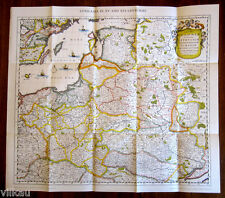Lithuania in the XV and XVI Centuries, Facsimile Map by F. De Wit - Rand McNally