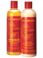 Creme Of Nature Sulfate Free Shampoo & Intensive Conditioning Treatment 12 Oz.