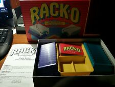 Rack-O Card Game Parker Brothers 1992 Complete