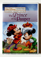Mickey The Prince and The Pauper Silly Symphonies Classic Disney Cartoons DVD