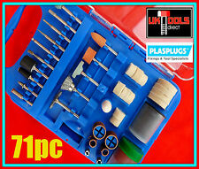 71pc Rotary Tool Accessory Kit for Dremel etc Polish*Engraving*Cut*Grind*Carving
