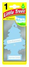 SUMMER COTTON Little Tree Magic Tree Air Freshener- Car-Van- Home Bargain