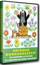 The Adventures Of Mole 1 sealed DVD Czech Little Mole Krtek Maulwurf 73 minutes