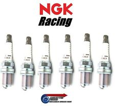 Set 6x NGK V-POWER RACING SPARK PLUGS hr8-per R34 GTR a SKYLINE RB26DETT