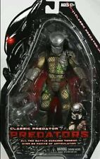 "NECA CLASSIC Predator dai predatori BATTLE DAMAGED 7"" Action Figure"