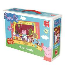 CHILDRENS KIDS 15 PIECE PEPPA PIG & FRIENDS GIANT FLOOR JIGSAW PUZZLE TOY 81372