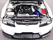 Cooling Slam Panel Cover Trim Kit For Nissan Skyline R33 GTR Carbon Fiber GARA