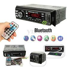 Bluetooth Autoradio Stereo Audio 1 DIN FM Aux Input Ricevitore USB SD MP3 Radio