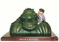 Alex Ross INCREDIBLE Hulk & Banner MEGA Bust Statue  2004  Limited Edition  NEW