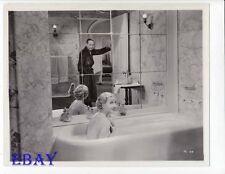 Genevieve Tobin sexy in tub, Adolphe Menjou  VINTAGE Photo Easy To Love