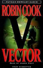 Vector by Robin Cook (1999, Cassette Tapes, Abridged) Audiobook