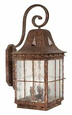 Vaxcel Lighting ED-OWD110CI Colonial Iron Edinburgh 4 Light Outdoor Wall Sconce