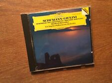 Schumann - Symphonie 3 [CD Album] DG West Germany / Los Angeles GIULINI