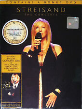BARBRA STREISAND The Concerts 2007 MALAYSIA Edition 3 DVD BOXSET NEW SEALED
