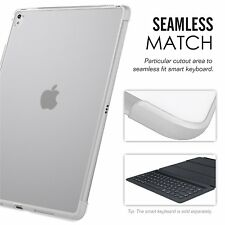 Apple iPad Pro 9.7 Case Back Cover Compatible With Official Smart keyboard Clear
