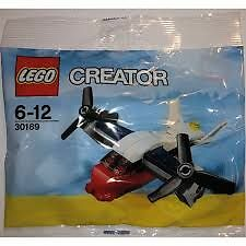 Party Bag Fillers - 10 x Lego Creator Sets  30189 Mini Transport Plane