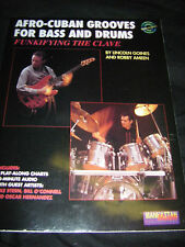 Book Afro-Cuban Grooves for Bass and Drums with CD