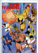 Hanna Barbera SUPER TV HEROES PRINT Blue Falcon Space Ghost Herculoids Thundarr