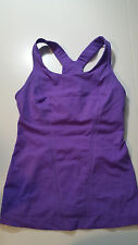 Lululemon sz 4 Stand Strong Tank Top Very Violet VGUC Power Luxtreme Purple