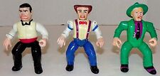 1990 Dick Tracy Villains - Lips Manlis, Shoulders, Flattop 90's Playmates Disney