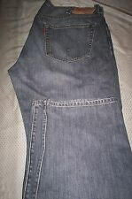 MINT! LEVIS 501 BUTTONFLY STRAIGHT LEG JEANS-GRAY-40X30