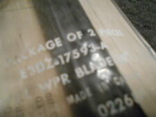 """NOS 1983 - 1986 FORD LTD MERCURY MARQUIS WINDSHIELD WIPER BLADES SET PAIR 18"""""""