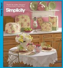 Simplicity Easy Sewing Pattern 4341 Kitchen Appliance Covers & Tea Cosy Oven Mit
