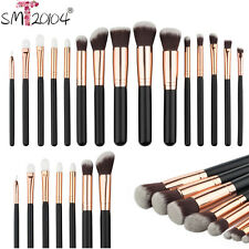 15PCS Cosmetic Makeup Brush Foundation Powder Eyeshadow Contour Brushes  2016#